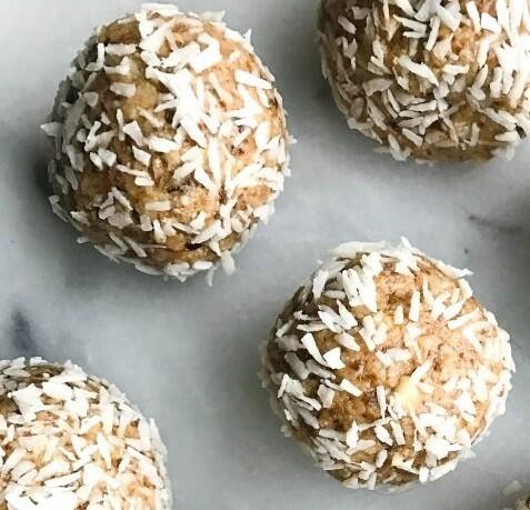 Chai Coconut Bliss Balls - 1 dozen