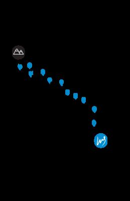 Recovery Run T-shirt - Race Route (MEN'S)