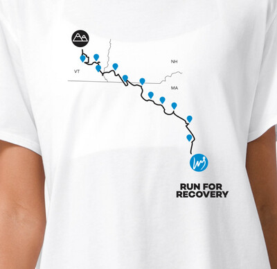 Recovery Run T-shirt - Race Route (WOMEN'S)