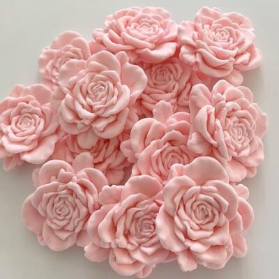 Large Pink Blush Roses