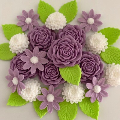 Lilac White Flowers