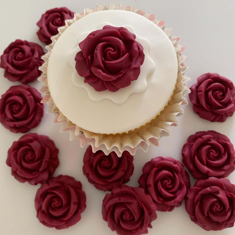 Claret Roses