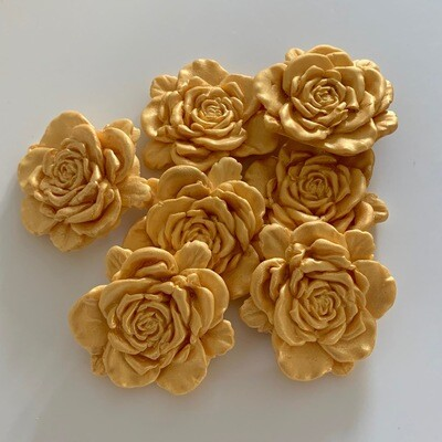 Large Gold Roses