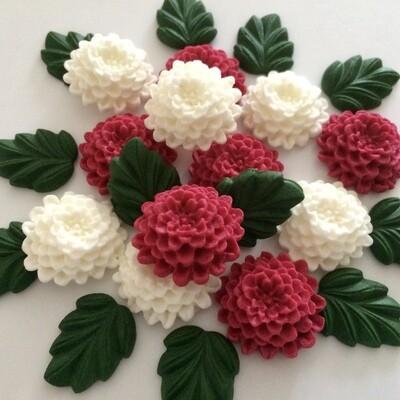 Christmas Chrysanthemums