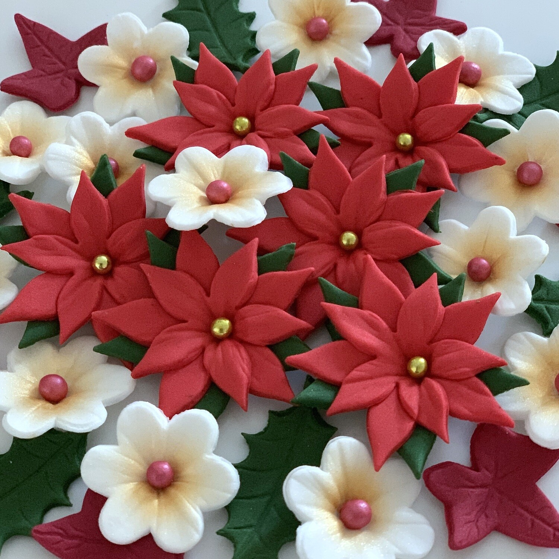 Christmas Poinsettia Bouquet