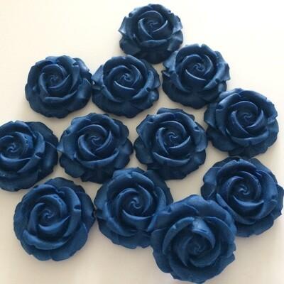 Navy Blue Roses