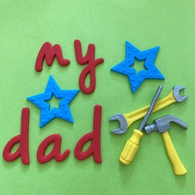 Dad Cake Decorations