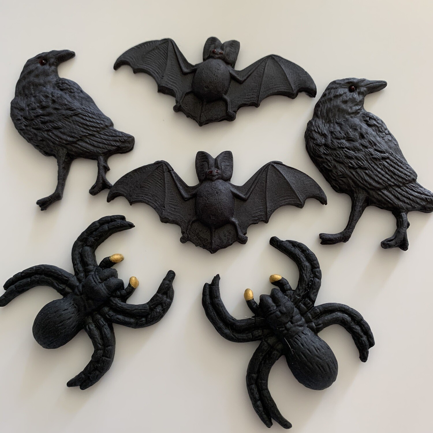 Bats Crows & Spiders