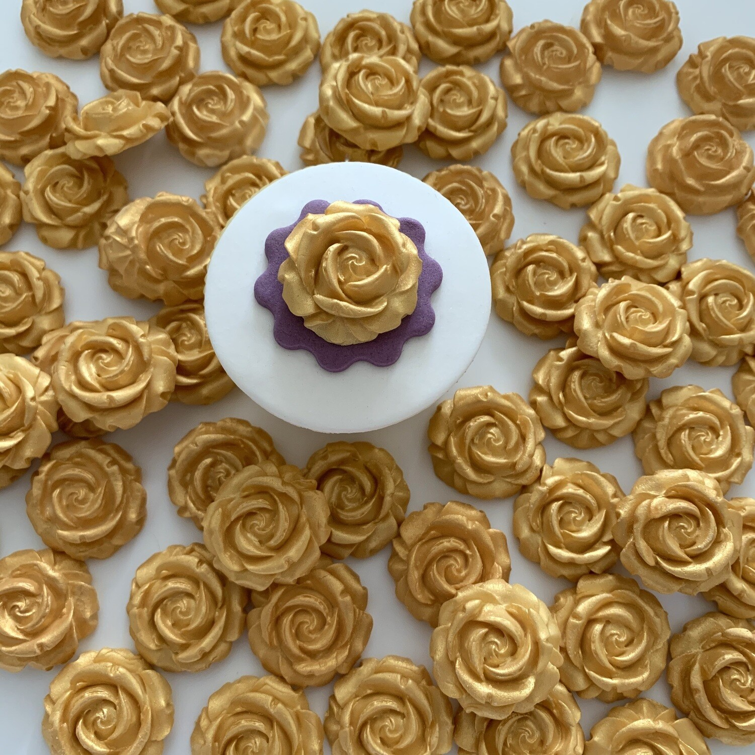 SALE 60 Gold Roses