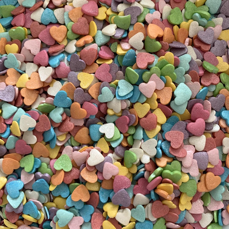 Rainbow Heart Sprinkles