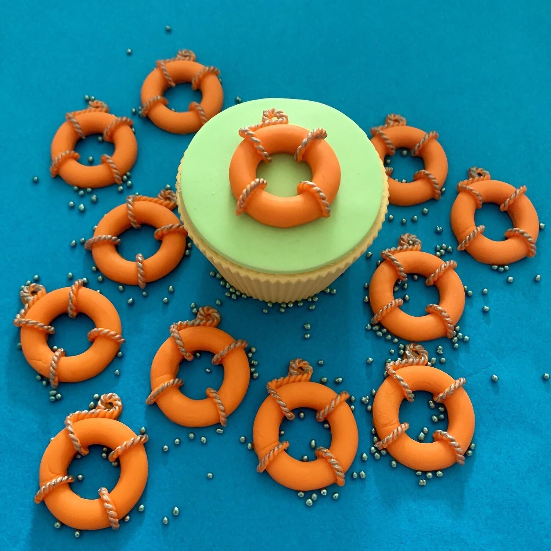 Orange Lifebuoys