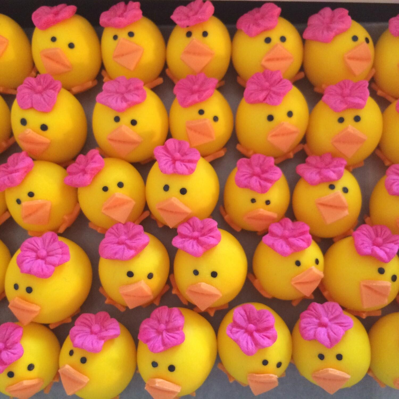 Easter Pink Hat Chicks