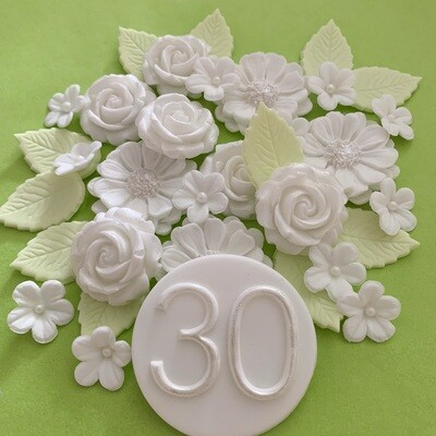 Pearl Wedding Anniversary Bouquet