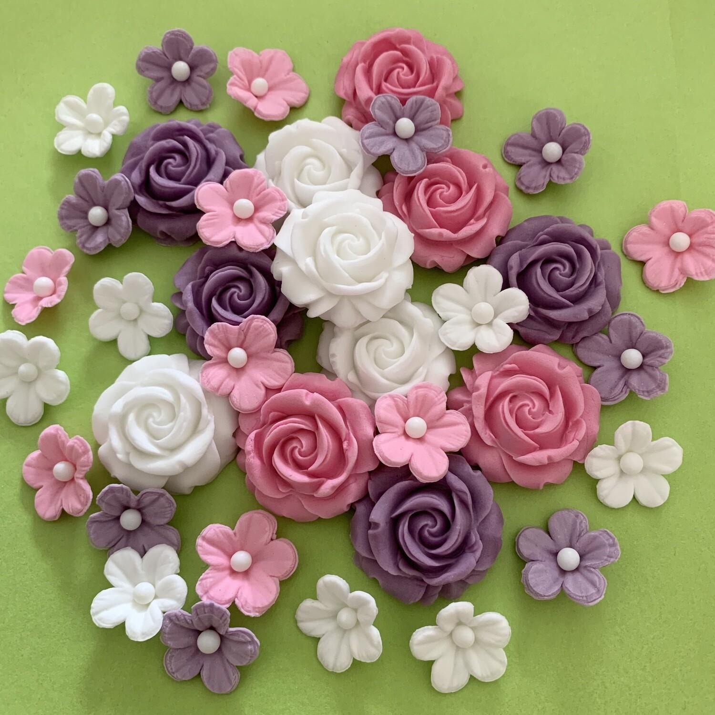 Lilac Pink Rose Mix