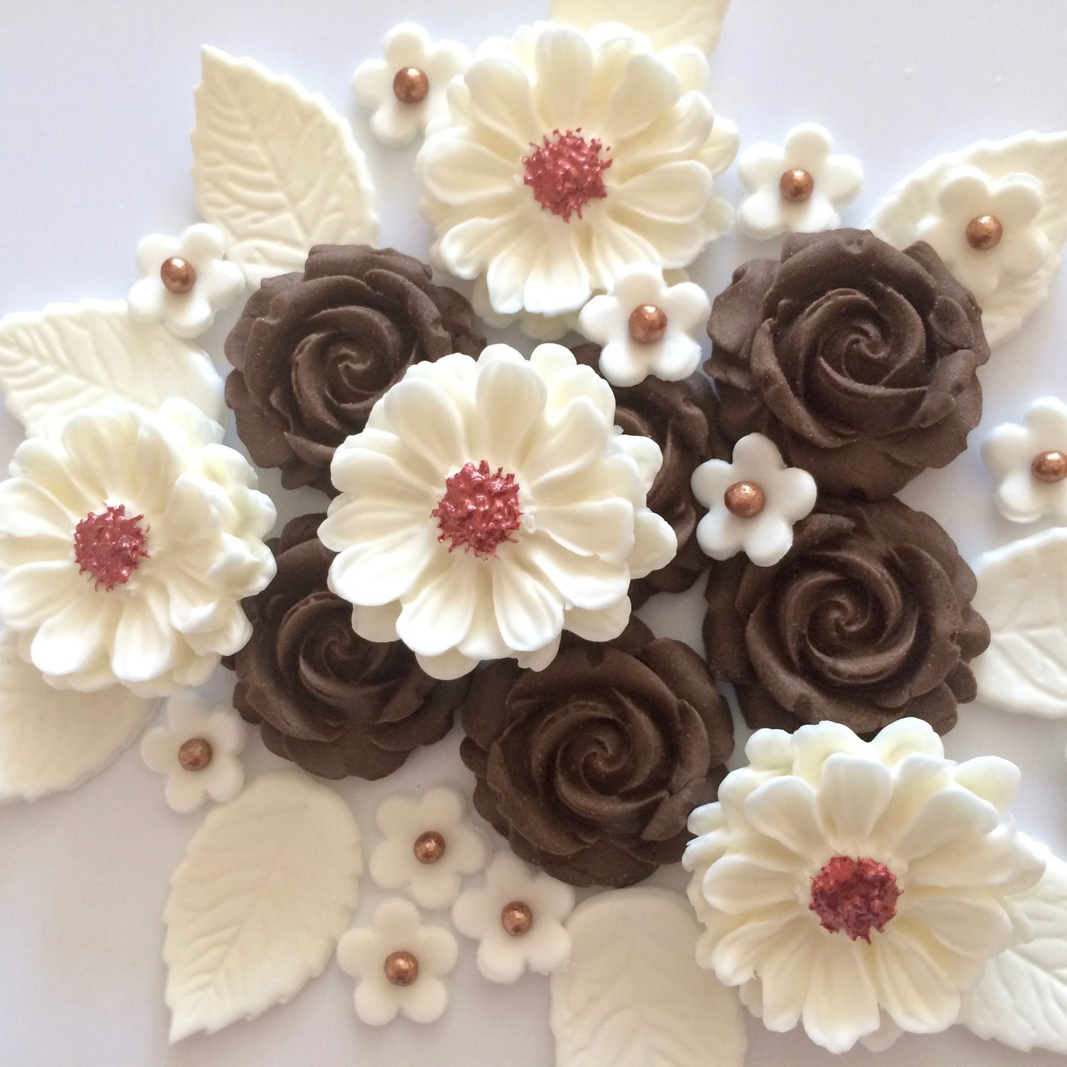 Brown Rose Bouquet