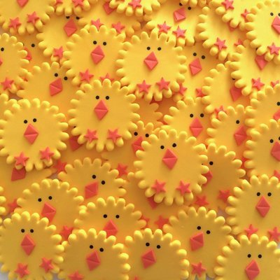 Easter Round Chicks