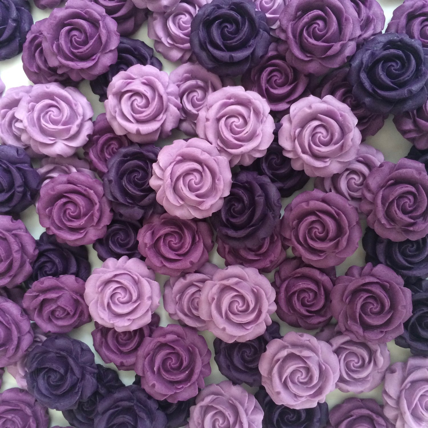 Mixed Purple Roses