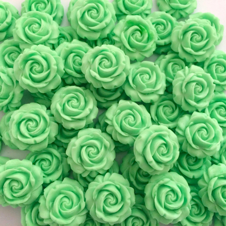 Mint Green Roses