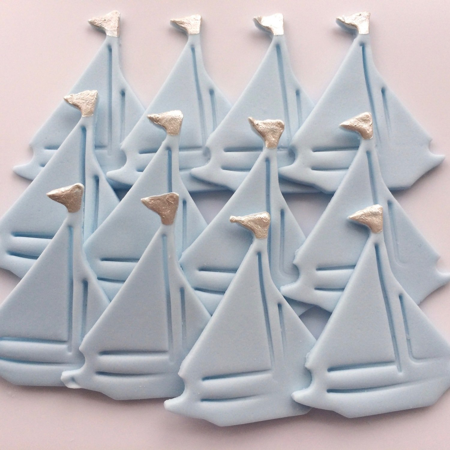 Baby Blue Sailing Boats