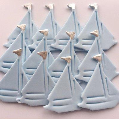 Baby Blue Sailing Boats