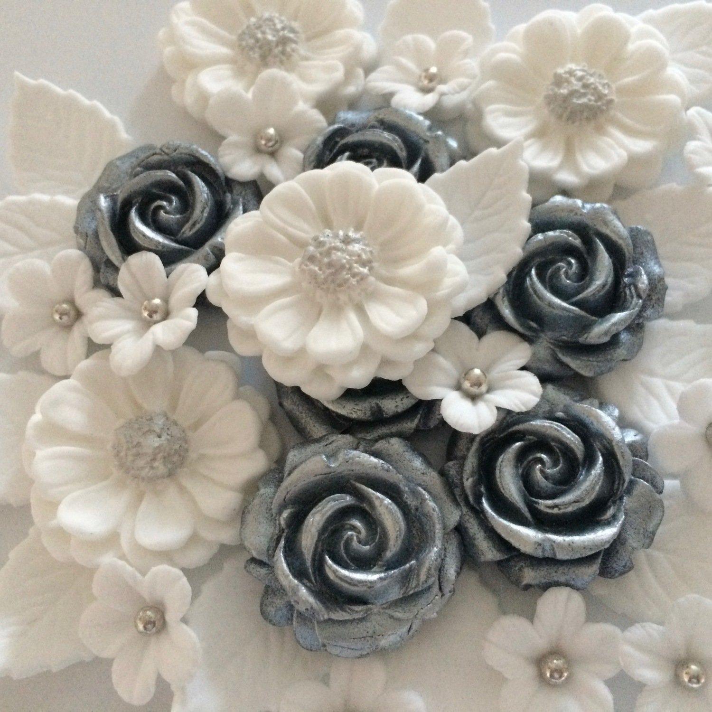 Silver Wedding Bouquet