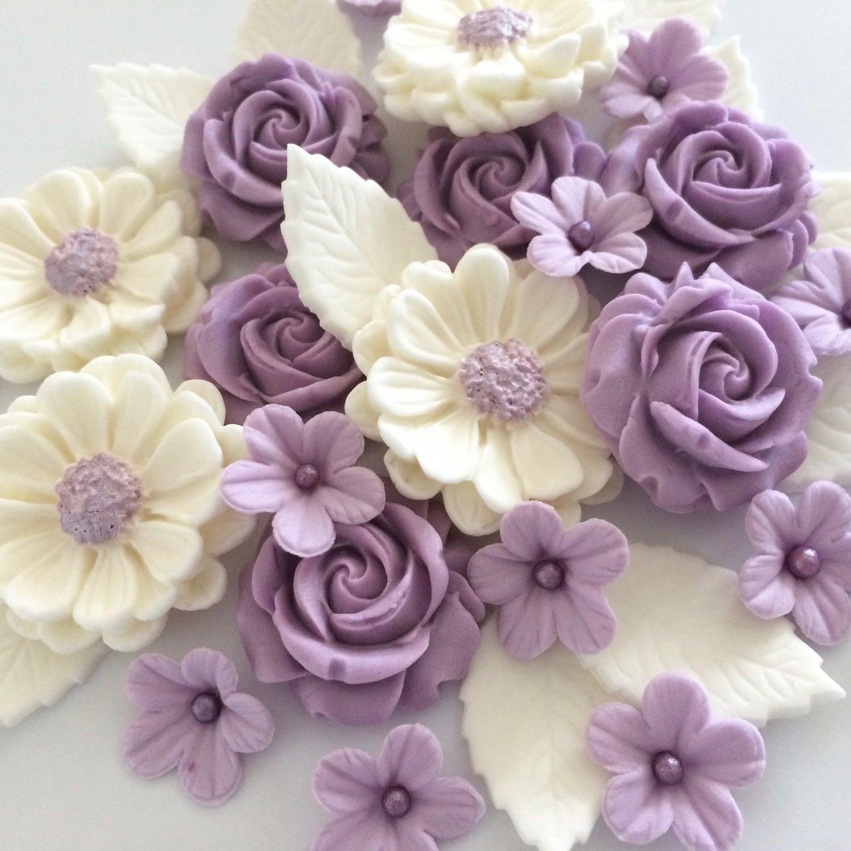 Lilac Cream Rose Bouquet