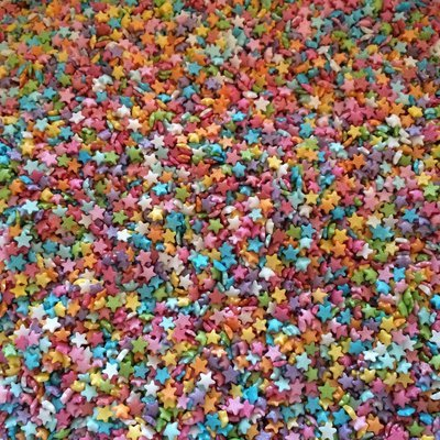 Mini Star Sprinkles