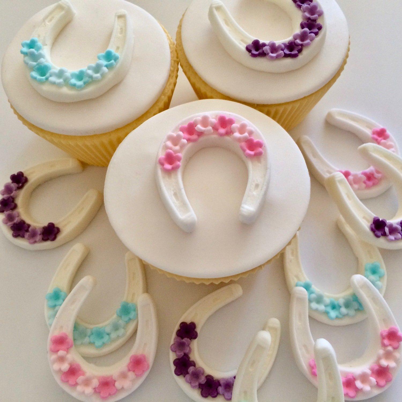 Horseshoe Cake Decorations