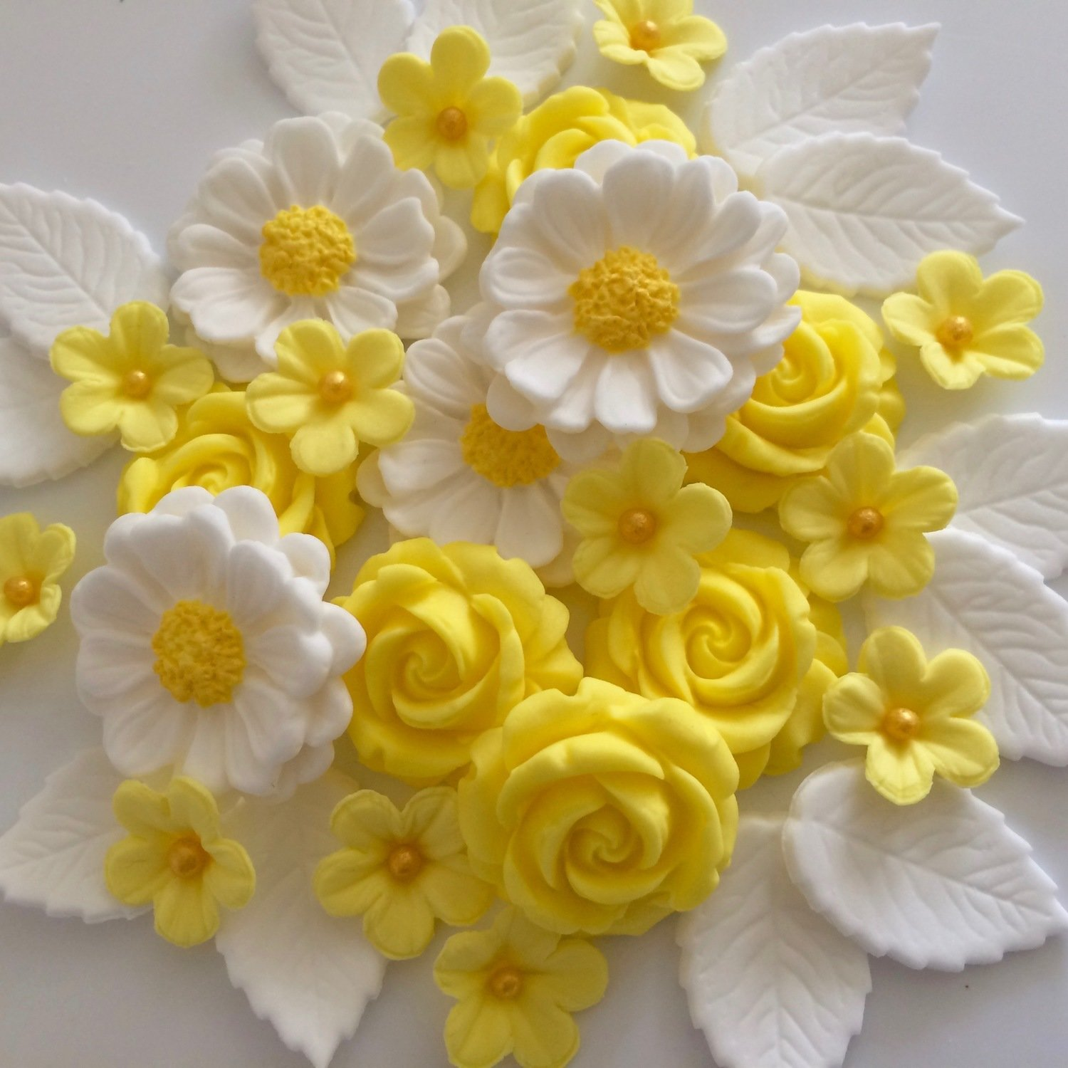 Lemon Rose Bouquet