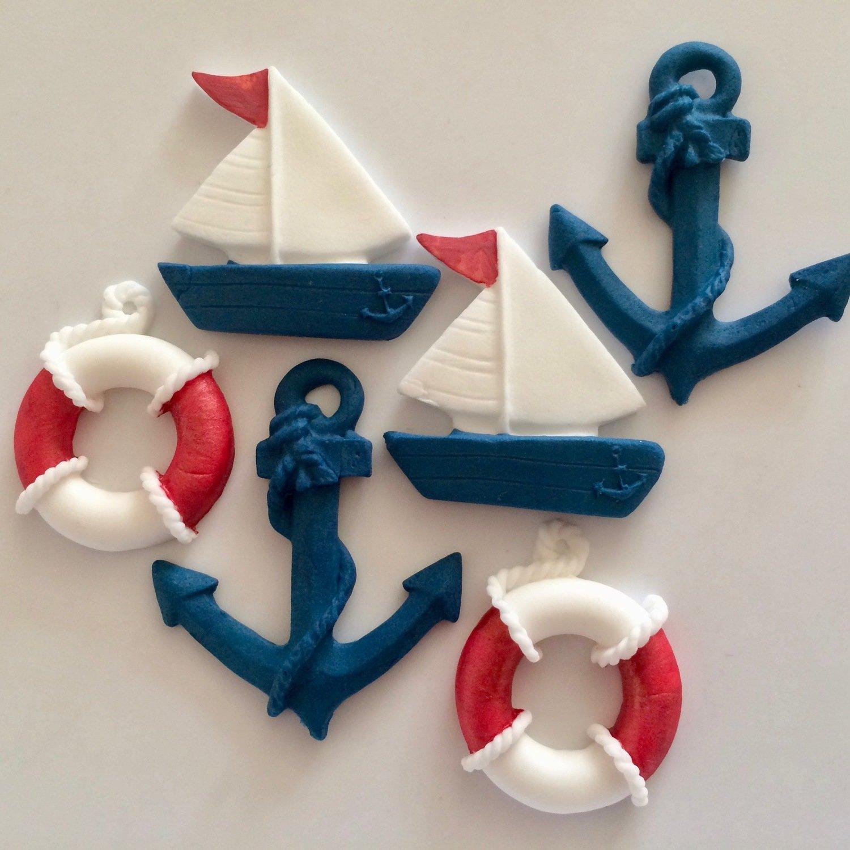 Lifebuoys Anchors Boats