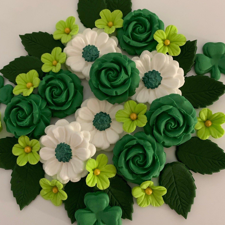 Emerald Green Shamrock Bouquet