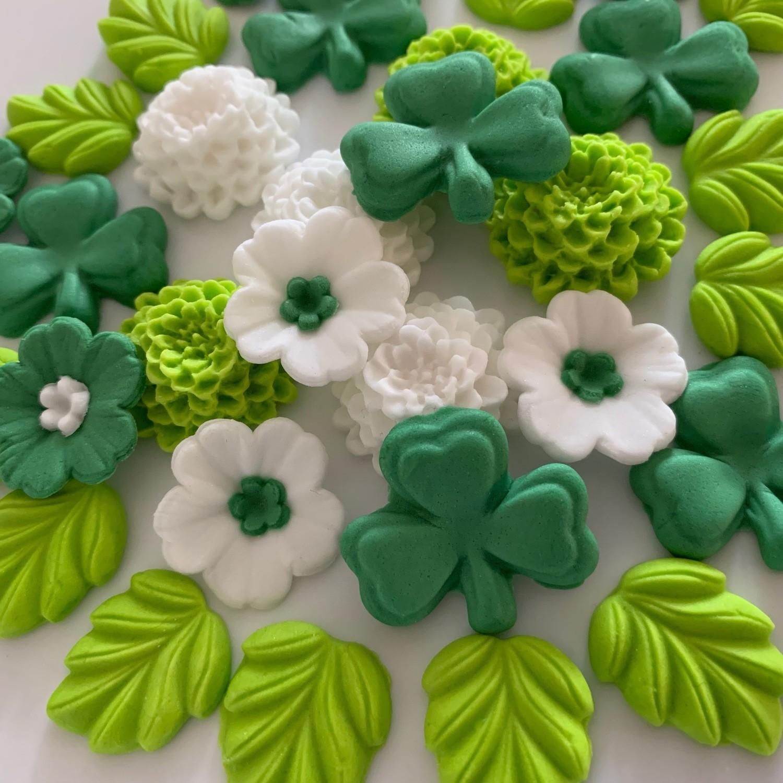Shamrocks & Flowers