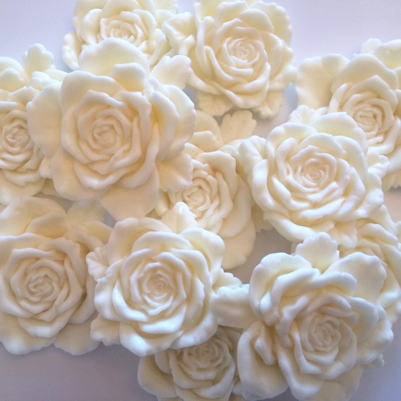 Large Cream Roses