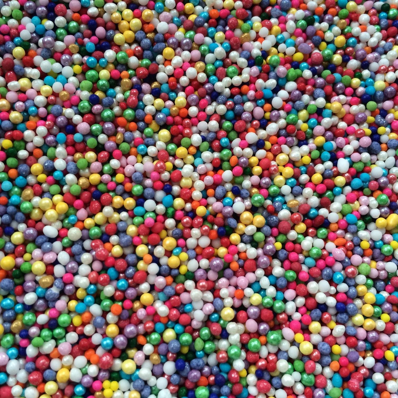Rainbow Nonpareils 100s 1000s