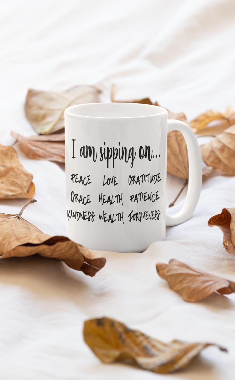 I Am Sipping On Mug