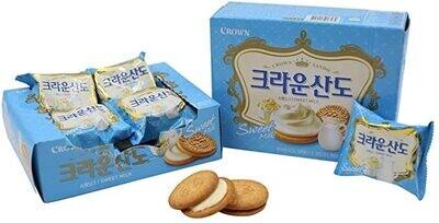 Crown Sando Sweet Milk Biscuits