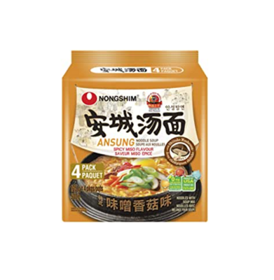 Nongshim Ansung - Beef and Fermented Bean