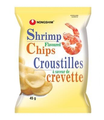 Nongshim Shrimp Flavoured Chips (45g)