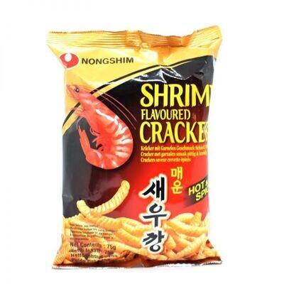 Nongshim Spicy Shrimp Flavour Cracker (75G)