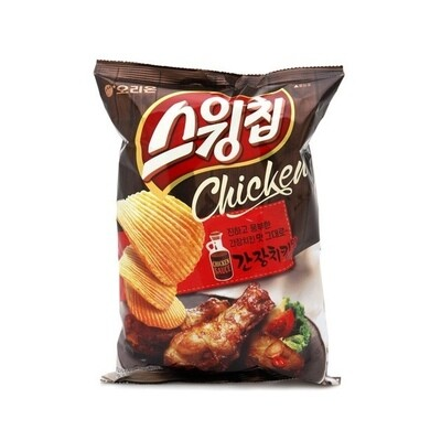 Orion Soy Sauce Chicken Flavour Chips (124G)