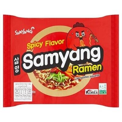Samyang Spicy Flavour Ramen (120G)
