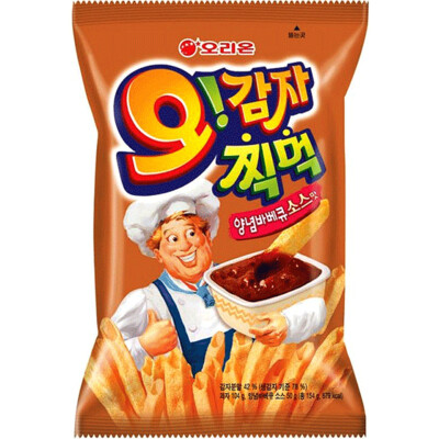 Orion O!Karto BBQ Dip Flavour Chips (154G)