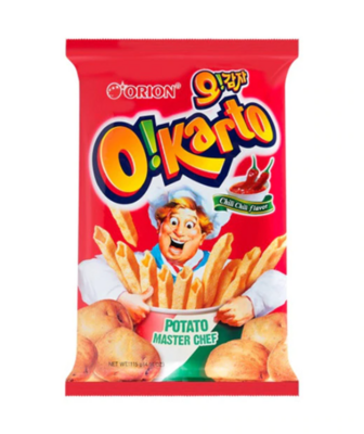Orion O!Karto Italian Chili Flavour Chips (115g)
