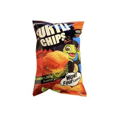 Orion Turtle Flamin Lime Flavour Chip (160G)
