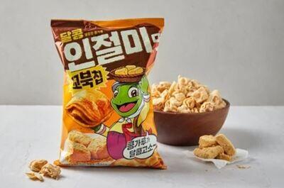 Orion Turtle Injeolmi Flavour Corn Chip (160G)