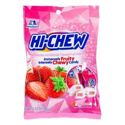Morinaga Hi-Chew Immensely Fruity - Strawberry (100G)
