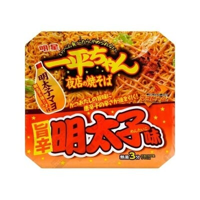 Myojo Ippeichan Yakisoba Spicy Cod Roe Flavour (126g)