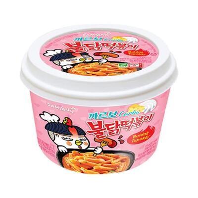 Samyang Buldak Carbo - Hot Chicken Flavour Topokki Bowl (179G)