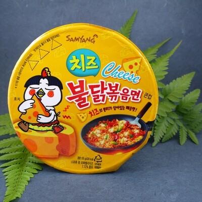 Samyang Buldak Cheese - Hot Chicken Flavour Ramen Bowl (105g)