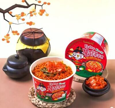Samyang Buldak Kimchi - Hot Chicken Flavour Ramen Bowl (105g)